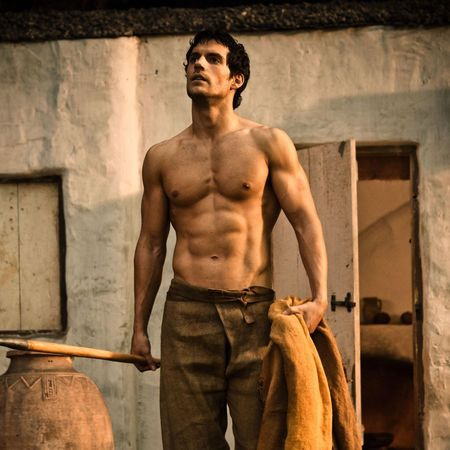 henry-cavill-immortals-topless-